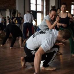 trening capoeira dla dorosłych