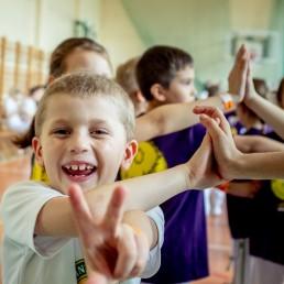 trening capoeira dla dzieci